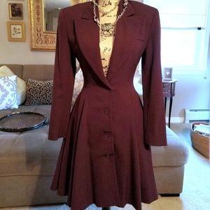 OMO by Norma Kamali 3/4 Length Jacket